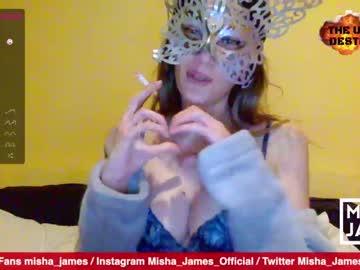 [19-04-21] misha_james webcam private sex video