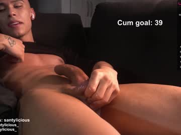 [27-05-21] santi_sexrivas chaturbate blowjob show